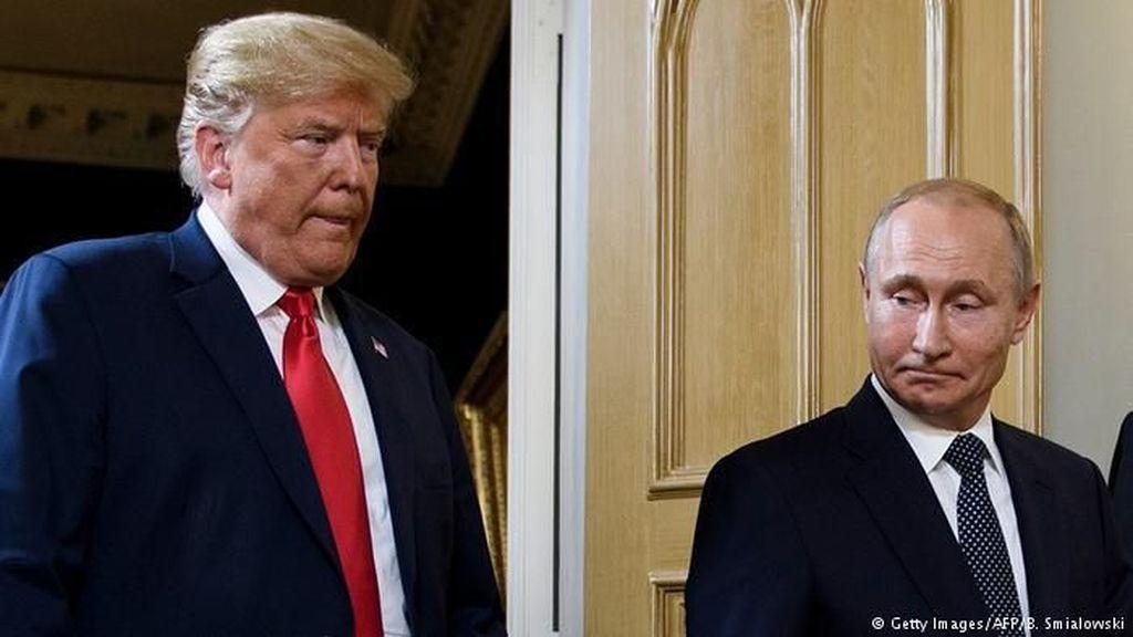 Trump Tunda Rencana Pertemuannya dengan Putin Tahun Ini