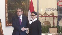Retno Bertemu Menlu Brunei Bahas Terorisme hingga Perlindungan WNI