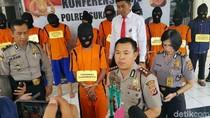 Jejak Gunting Baja Antarkan Kembali Residivis Curanmor ke Penjara