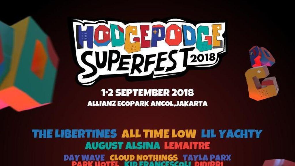 Jakarta Punya Festival Musik Baru, The Libertines Jadi Headlinernya