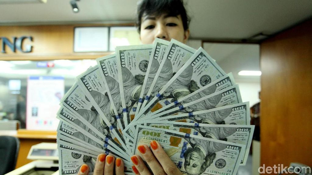 Dolar AS Tembus Rp 14.600, Tertinggi Tahun Ini