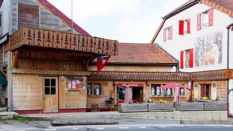Hotel Arbez Franco Suisse di perbatasan Prancis-Swiss (booking.com)
