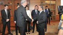 Bertemu Pejabat Singapura, Ketua MPR Sampaikan Kondisi Politik RI