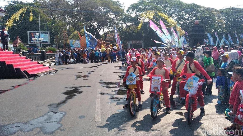 Obor Asian Games Dikirab dan Bermalam di Malang, Lalu ke Bromo