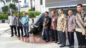 Gubernur Bangka Belitung Buka Perdagangan Saham di BEI