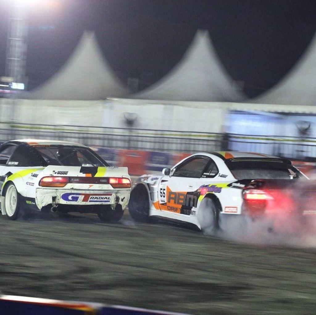 ABM Motorsport Rebut Trofi Juara di Seri 2 Kejurnas Super Drift