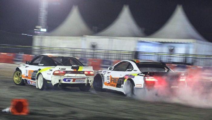 Dua drifter ABM tampil di seri kedua Kejurnas Super Drift 2018 (dok.ABM Motorsport)