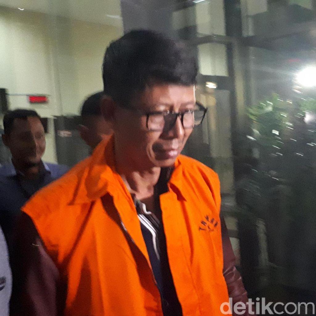 Tampang Wahid, Kalapas Sukamiskin Usai Diperiksa KPK