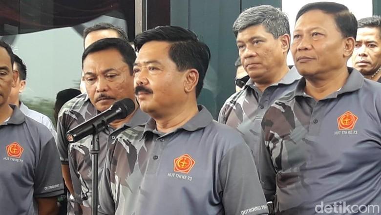 Peringati HUT Ke-73, TNI Gelar Outbound Bersama Wartawan di Bogor