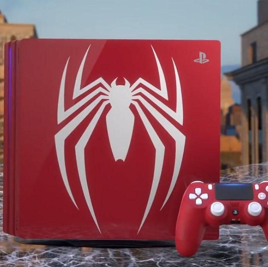 Keren! Sony Bikin PlayStation 4 Pro Edisi Spider-Man