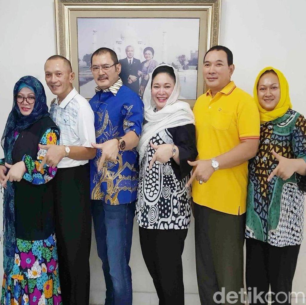 Hanya 3 Anggota Trah Soeharto yang Maju Caleg dari Berkarya