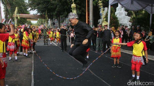 Festival permainan tradisional di Banyuwangi/