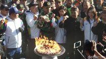 Obor Asian Games Tiba di Bromo, Ini Harapan Warga