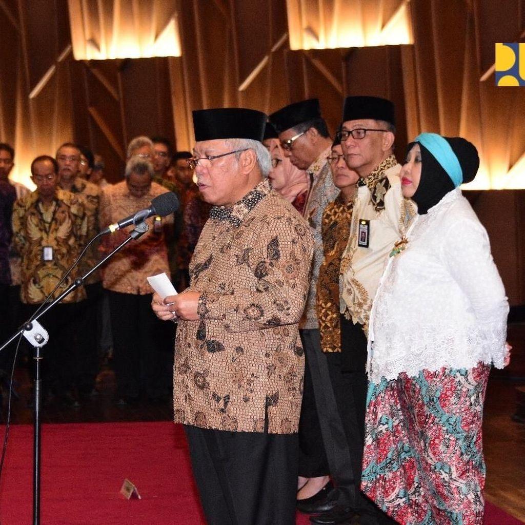 Menteri PUPR Lantik 7 Pejabat Eselon I