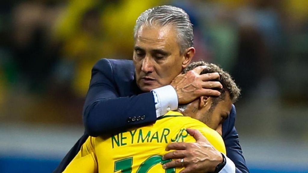 Neymar pada Tite: Teruslah Jadi Pelatih Brasil