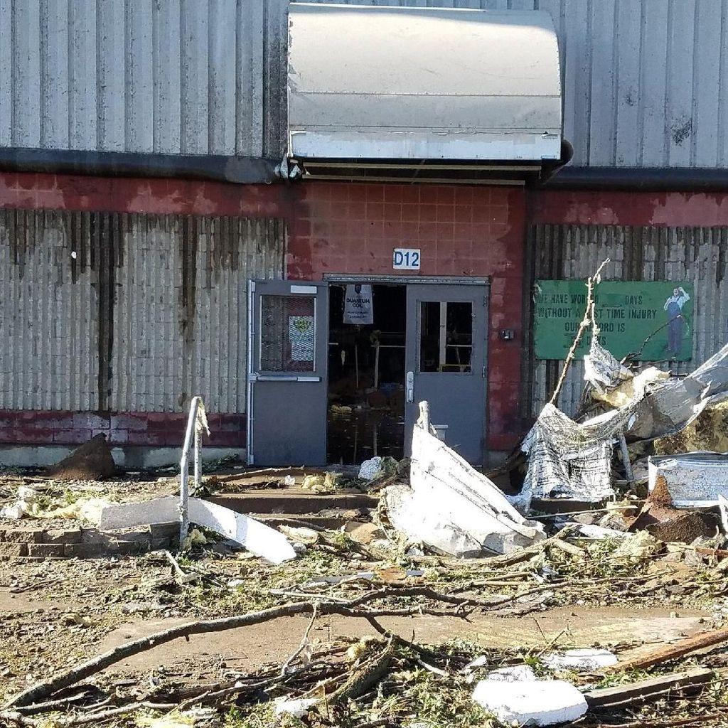 Tornado Luluh Lantakkan Iowa Amerika Serikat