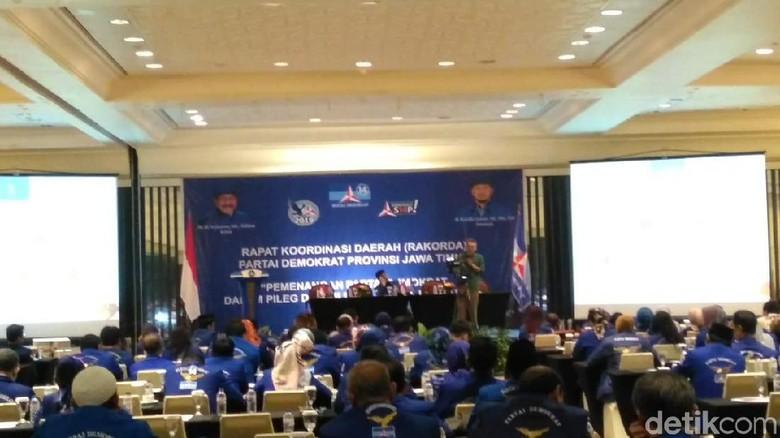 Ada Kerja Keras SBY untuk Pileg 2019 di Rakorda Partai Demokrat