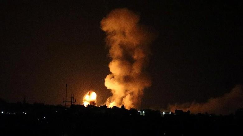 Tentaranya Tewas Ditembak, Israel Gempur Posisi Hamas di Gaza