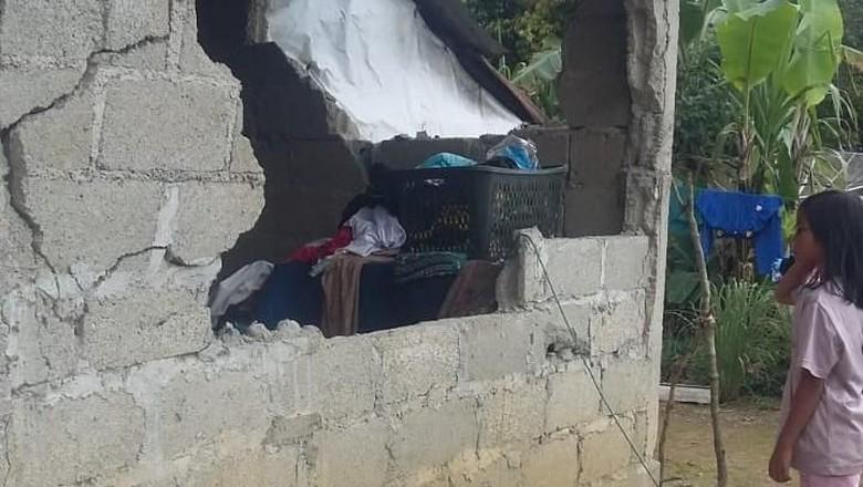 Gempa 5,5 SR di Padang, 7 Rumah Rusak Berat