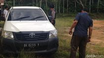 Mobil Tangan Kanan Bupati Labuhanbatu Saat Kabur dari OTT Ditemukan