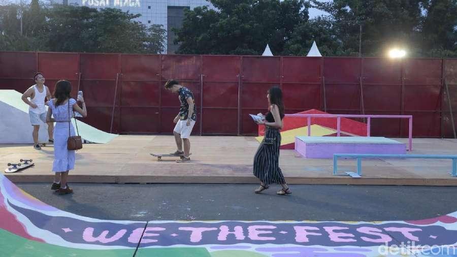Nyeni dan Main Skate di We The Fest 2018