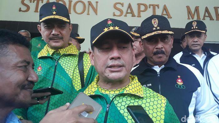 Wakil KSAD, Letnan Jenderal TNI Tatang Sulaiman (Foto: Pertiwi/detikSport)