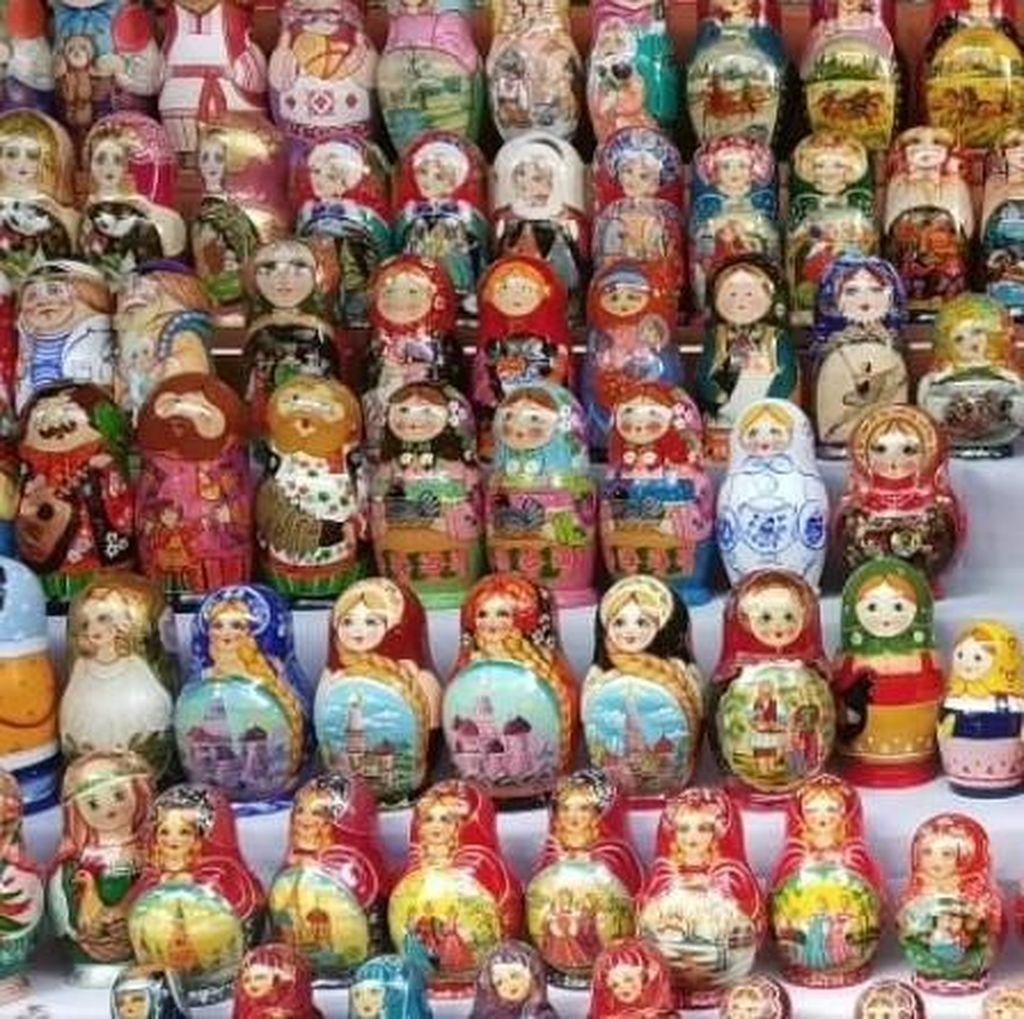 Tempat Berburu Suvenir Murah di Moskow