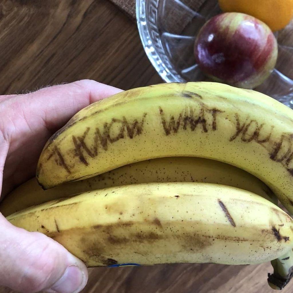 Pisang Berhantu Jadi Tren Prank Makanan Terbaru