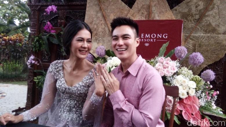 Akhirnya! Baim Wong Lamar Paula Verhoeven di Semarang