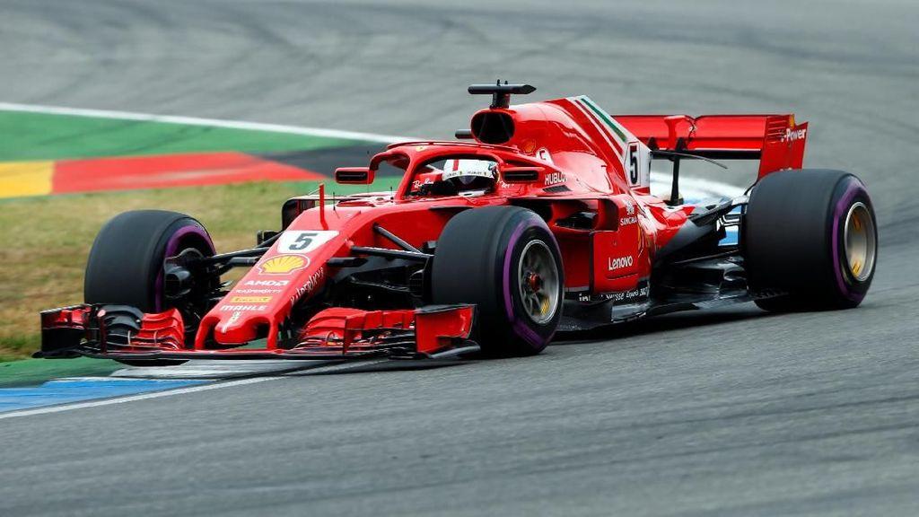 Vettel Pole di Kualifikasi GP Jerman 2018