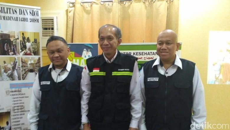Kapuskes Haji Imbau Jemaah Minum 2 Liter Air Sehari