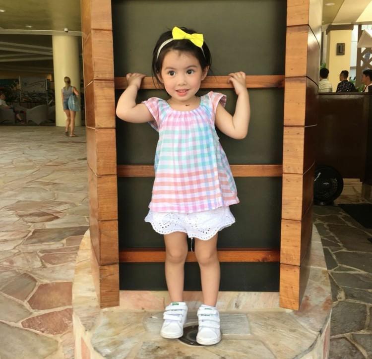 Hai Bunda, kenalin nih Olivia Manzano Reyes yang biasa dipanggil Oli. (Foto: Instagram/oliviamreyes)