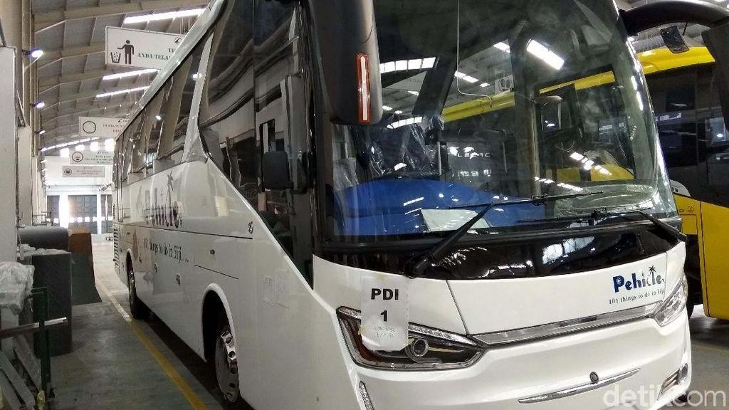 Bangga! Ini Deretan Bus RI yang Diekspor ke Berbagai Negara