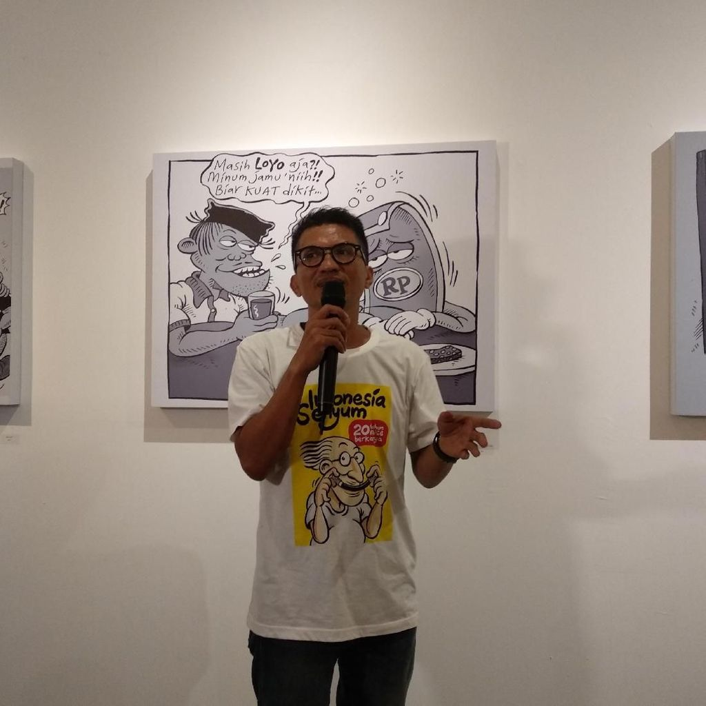 Ngefans The Beatles, Kartunis Mice Ingin Bikin Komiknya