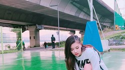 Anggota salah satu girl band Korea BLACKPINK ternyata gemar berolahraga. Yuk intip gaya mereka saat olahraga.