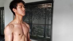Ingin Berotot, Iqbaal Dilan Ramadhan Mulai Nge-gym