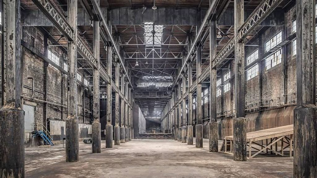 Gedung Tua Berkarat Bekas Pabrik Gula Ini Tampak Mengaggumkan