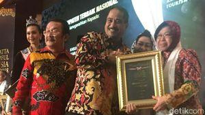 Surabaya Jadi Kota Terbaik Yokatta Wonderful Indonesia Tourism Award
