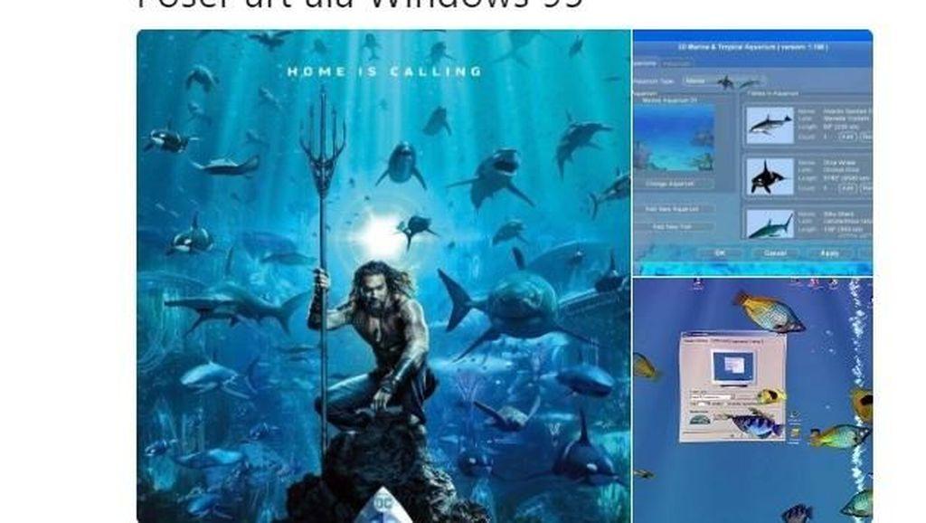 Deretan Meme Kocak Kemunculan Aquaman & Shazam