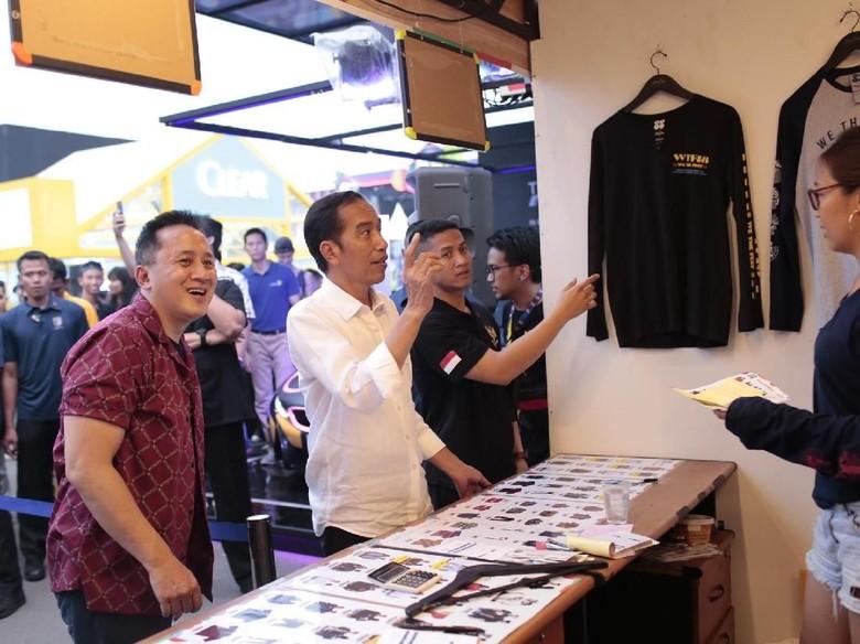 Di WTF 2018, Jokowi Sebut Industri Kreatif Punya Potensi yang Besar