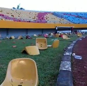 Renovasi Telan Rp 250 M, Stadion Jakabaring Kini Porak-poranda