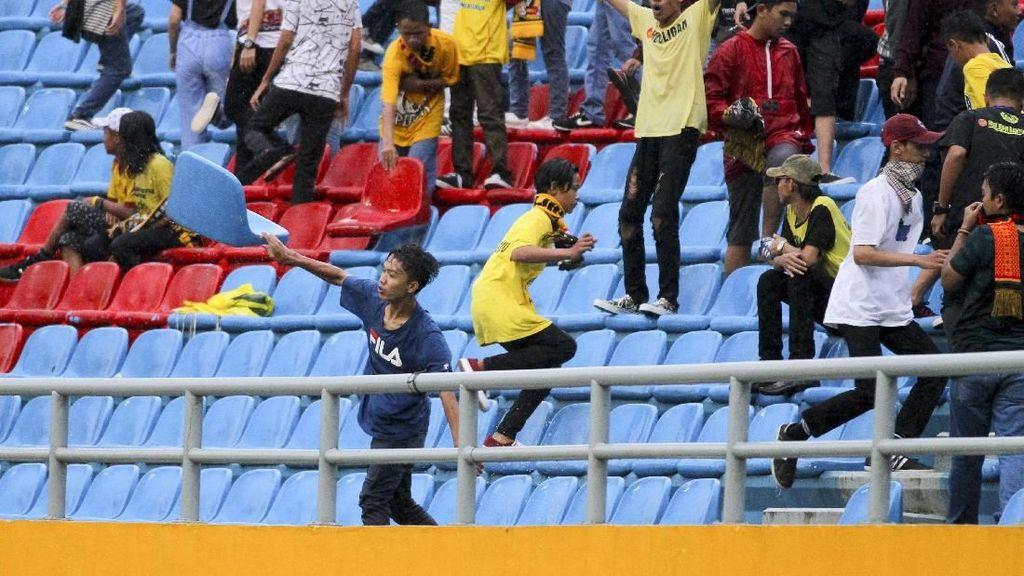 Sebulan Jelang Asian Games 2018, Jakabaring Malah Dirusak Suporter