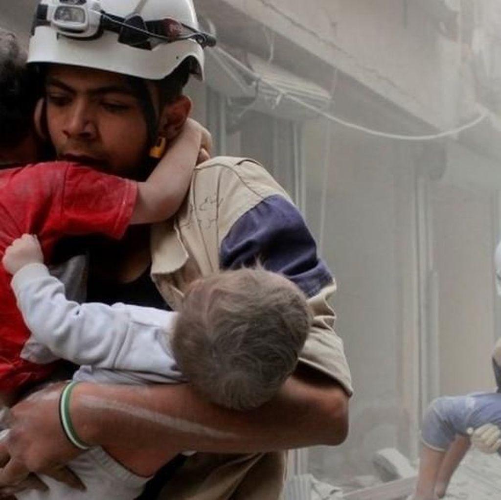 Konflik Suriah, Israel Evakuasi Ratusan Anggota Kelompok Helm Putih