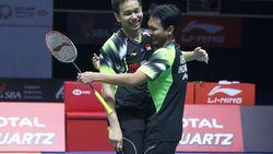 Laga Kedua BWF Tour Finals: Tommy Kalah, Hendra/Ahsan Menang