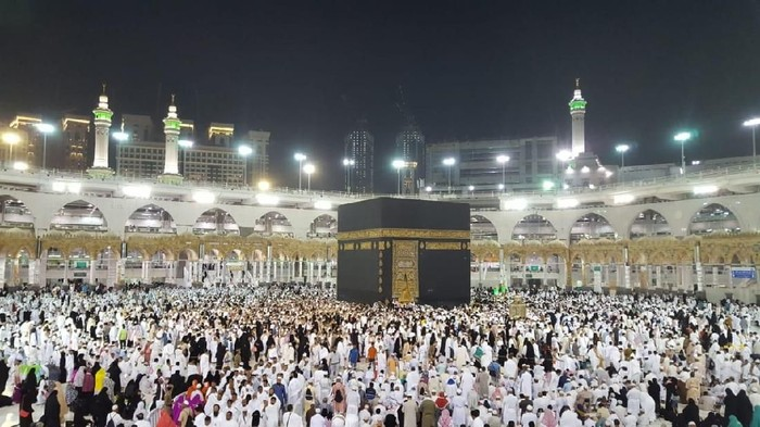 Foto: Kakbah di Mekah/Fajar Pratama detikcom