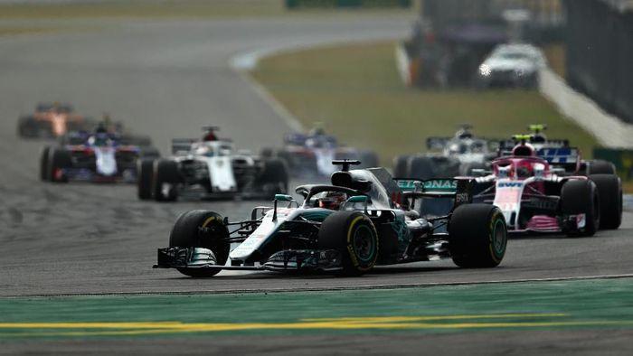 Lewis Hamilton juara GP Jerman. (Foto: Dan Istitene/Getty Images)