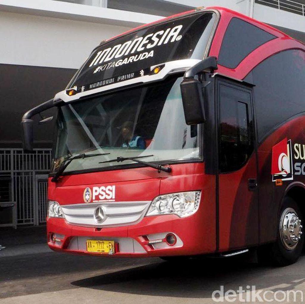 Kerennya Bus Baru Timnas