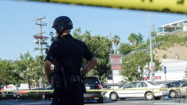 Detik-detik Menegangkan Penyanderaan Swalayan di Los Angeles