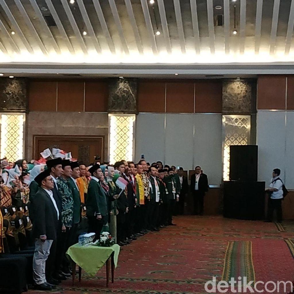 Hadiri Harlah ke-20 PKB, Jokowi Duduk di Samping Cak Imin