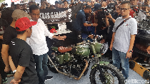 Kata Jokowi Soal Motor Bobber Milik Gibran